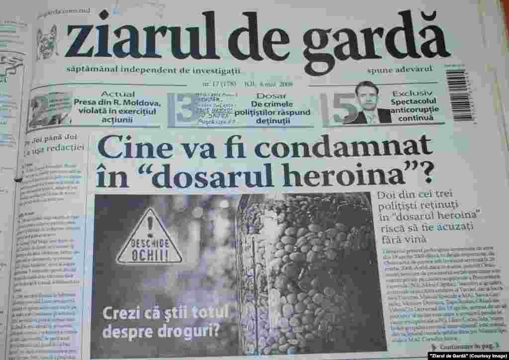 """""""Ziarul de Gardă"""", 8 mai 2008"""