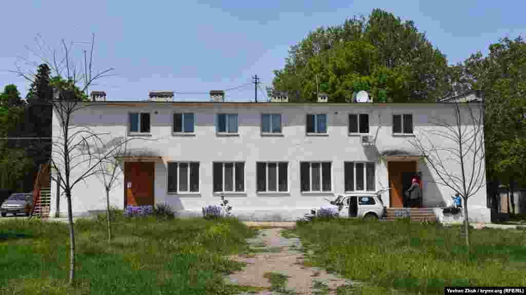 Здание администрации села