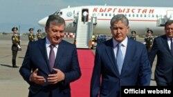 Приезд Алмазбека Атамбаева в Узбекистан в декабре 2016 года.