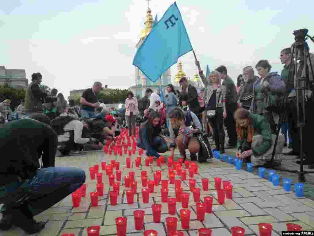 Киевта матәм чарасы