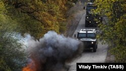 Тактико-специальные учения с подразделениями соединения спецназначения ЮВО в Краснодарском крае