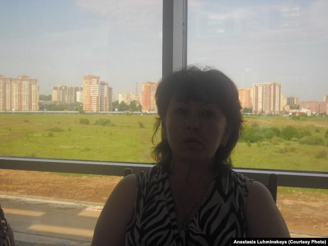 Наталья Крюкова, мать заключенного