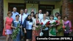Profesorii Gimnaziului din Bălășești