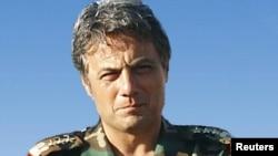 Бригада генералы Манаф Тлас. Дамаск, Сирия, 21 ақпан 2011 ж.