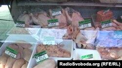 Цены на мясо в оккупированном Донецке