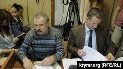 Vasiliy Ganış işi boyunca mahkeme, arhiv fotoresimi