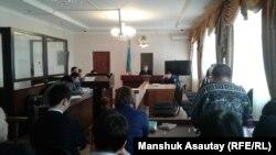 Суд по делу об убийстве фигуриста Дениса Тена, Алматы, январь 2019 года.