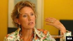 Амбасадорката на Холандија во Македонија Симоне Филипини