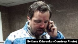 Ігор Ісхаков, відеооператор Радіо Свобода (фото: Svitlana Odarenko)