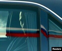 Володимир Путін в автомобілі (архівне фото)