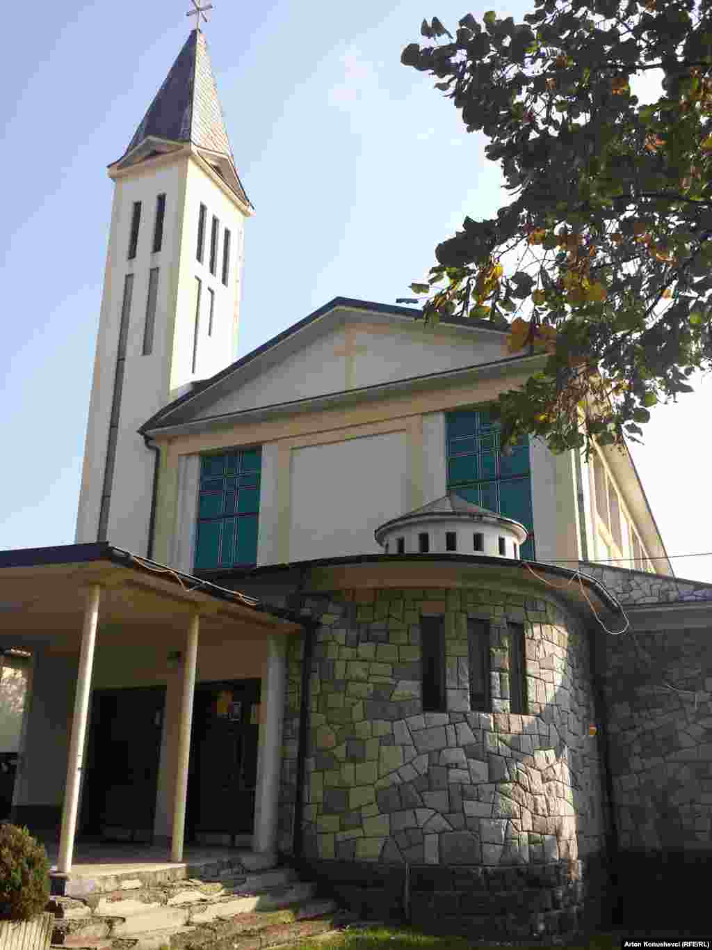 Saint Ndou Catholic Church in Pristina
