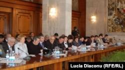La o reuniune a primarilor la Chișinău