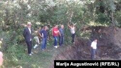 Ekshumacija tela hrvatskih žrtava u Rostovu kod Bugojno