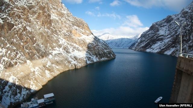 Токтогульское водохранилище в Кыргызстане. Иллюстративное фото.