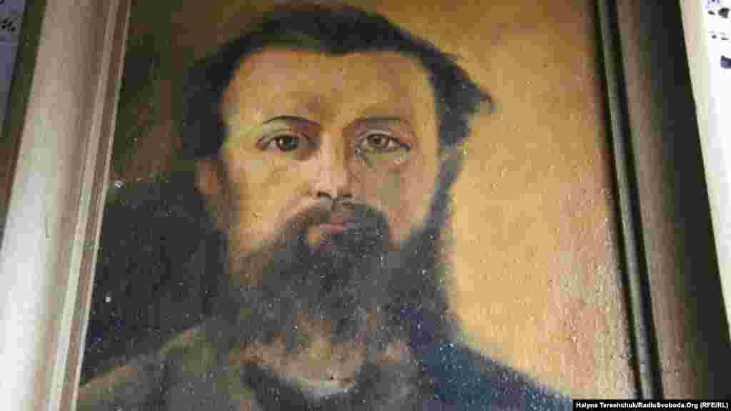 Автопортрет художника Корнила Устияновича