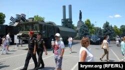Выставка российской военной техники в Севастополе, 29 июня 2019 года