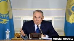 Kazakh President Nursulatan Nazarbaev (file photo)