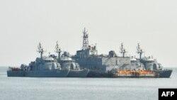 Оңтүстік Кореяның әскери кемесі Сары теңіз аймағында бақылау жасап жүр. Көрнекі сурет.