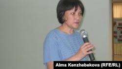 Гульбану Амиртаева, заместитель руководителя управления образования города Алматы. 17 августа, 2016 года.