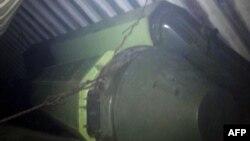Рікардо Мартінеллі оприлюднив на своєму твітері (@rmartinelli) фото того, що, за його словами, є «забороненим складним ракетним обладнанням», затриманим на північнокорейському судні, 16 липня 2013 року