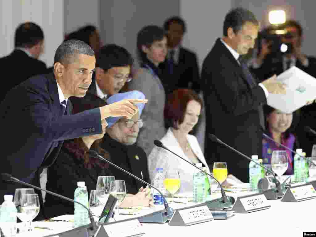نشست سران گروه بیست در سئول - کره جنوبی