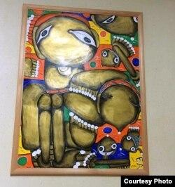 Картина Емми Андієвської у Чернівецькому університеті імені Юрія Федьковича