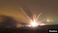 انفجار یک موشک اسرائیل در شمال غزه؛ ۱۸ ژوئیه