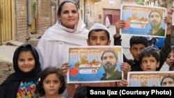 آرشیف، ثنا اعجاز، یکی از رهبران جنبش تحفظ پشتون در جریان کمپاین برای این جنبش در شمال غرب پاکستان. January 16, 2019