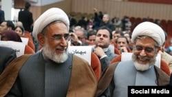 محسن رهامی و رسول منتجب نیا (عکس از تسنیم)