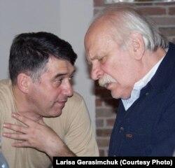 Евгений Каменькович и Петр Фоменко. Фото Ларисы Герасимчук