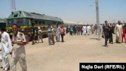 Железницата од Багдад кон Карбала.