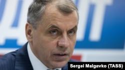 Спикер крымского парламента Владимир Константинов