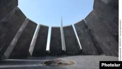 The Monument to the Victims of the Armenian Genocide in Yerevan