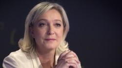 """""""Ұлттық майдан"""" партиясының жетекшісі Марин Ле Пен."""