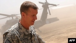 "U.S. General Stanley McChrystal: ""A policy debate is warranted."""