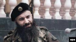 Один из лидеров северокавказского вооруженного подполья Шамиль Басаев