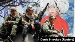 Российские военные в Цхинвали, иллюстрационое фото