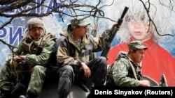 Pjesëtarë të ushtrisë së Rusisë