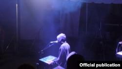 Juan Atkins în concert (foto: Dave Walker)