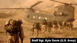 Американски војници во покраината Кандахар, Авганистан