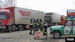 После введения Киевом новых таможенных правил на границе Украины скопились грузы из Приднестровья