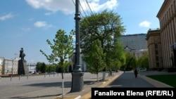 Площадь Ленина и обладминистрация