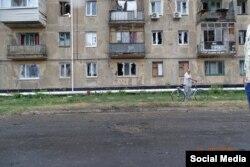 Результаты обстрела Счастья сепаратистами 31 августа 2016 года