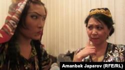 """""""Келиндер козголоңу"""" спектаклинен."""