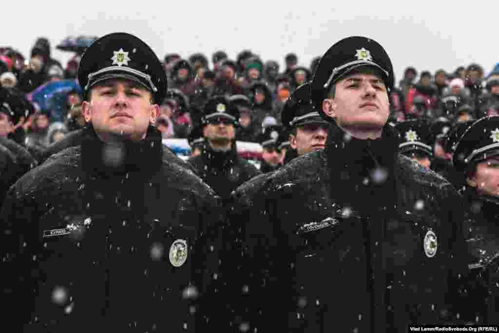 Нові патрульні поліцейські