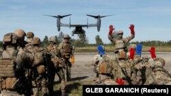 Украино-американские учения Rapid Trident во Львовской области. Сентябрь 2020 года