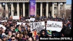 Митинг в Новосибирске. Снимки Мелани Бачиной