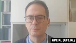 Участник расследовательской группыBellingcat Христо Грозев