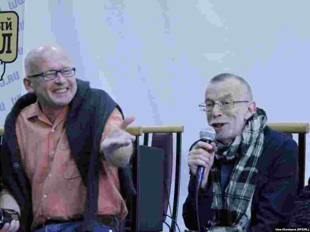 Валерий Панюшкин и Лев Рубинштейн
