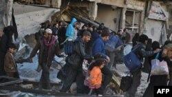 Евакуација на цивили од Хомс, 10.02.2014.